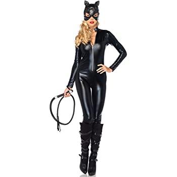 Costume da Catwoman - Gatta - Gattina Nera - Donna Ragazza - Sexy - Travestimento