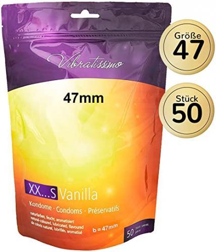 VIBRATISSIMO Mix Confezione da 50 profilattici mixte per un piacere puro, una sensazione naturale ed extra umidità